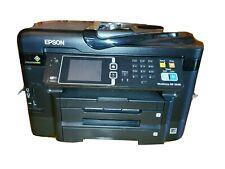 Epson WorkForce WF-3640 All In One Printer Precision Core WiFi 3 Trays READ DESC