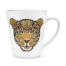 Muso Leopardo 341ml Latte Tazza - Divertente Animale