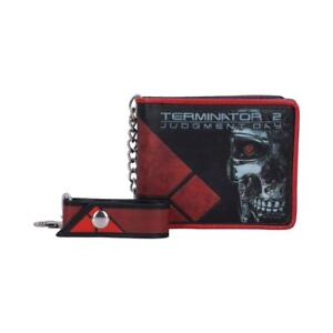 Terminator 2 Judgement Day T-800 Wallet with Chain