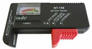 Volmate AA/AAA/C/D/9V Universal Button Cell Battery Volt Tester