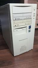 Pentium II MMX 400MHz 196MB Tower *Vintage DOS Windows Rare*