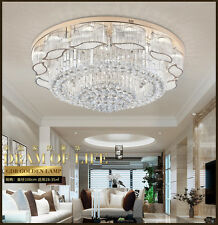 Home Clear Crystal K9 Ceiling Light Chandelier Shop Bar Pendant Lighting 60cm