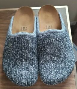 New Birkenstock Amsterdam Wool Knit Slippers Sandals Mules Clogs Slides Textile