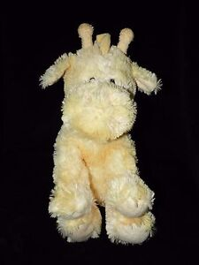 RUSS BUTTERCRUNCH GIRAFFE SOFT TOY YELLOW COMFORTER RATTLE DOUDOU