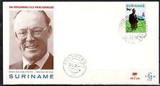 Suriname - 1971 60th birthday Prince Bernhard - Clean unaddressed FDC!
