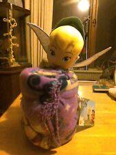 "Disney Fairies Tinker Bell ""Autumn Fairy"" Hugger Plush Pillow & Throw Set"