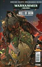 Warhammer 40,000 #4C Variant, Will of Iron Part 4, 40K, NM 9.4, 1st Print, 2017