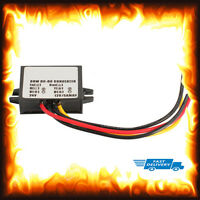 24v To 12v DC 5Amp 5A 60w Current Step Down Voltage Reducer Lorry Truck Boat Car