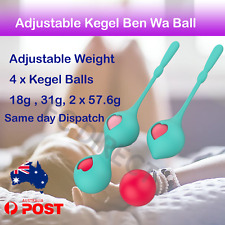 Weight Adjustable Kegel Ben Wa Balls for Tightening Exercises Pelvic Floor