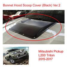 Bonnet Hood Scoop Cover Nut Black For Mitsubishi Pickup L200 Triton at 2015 - 17