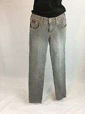 Baby Phat Size 5 Gray Skinny Jeans