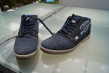 TOM TAILOR Denim Herren Schuh Stiefel Boots Gr.44 Jeans Leder blau sportlich #13
