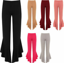 Flared Stretch Casual Pants for Women