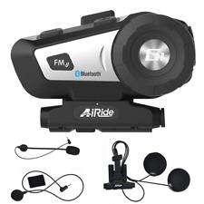 Motorrad Fahrrad Bluetooth Headset Kopfhörer Motorradhelm Intercom Sprechanlage