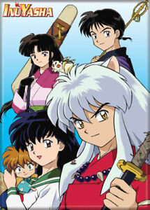 Inuyasha Characters Anime Magnet 72095N