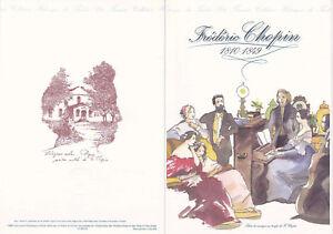 Document philatélique 1er jour 15- 1999 Frédéric Chopin Musique Compositeur