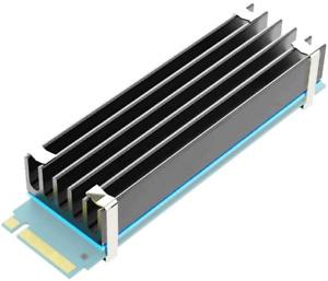 glotrends M.2 Heatsink NVME Heatsink for M.2 2280 SSD 22x70x10mm Aluminum Body