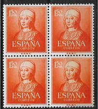 ESPAÑA AÑO 1951 EDIFIL 1095 BLOQUE DE 4 ** MNH - NACIMIENTO ISABEL LA CATOLICA