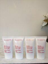 Clarins Beauty Flash Balm - Brightens, Tightens 0.5oz Each X 4pcs