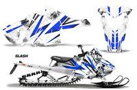 Snowmobile Graphics Kit Decal Sticker Wrap For Polaris Axys SKS 15-16 SLASH BLUE