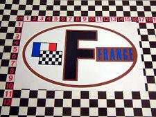 Retro Style France F Sticker Citroen Ami 6 8 Dyane Mehari DS19 DS 21 Autocollant