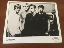 MANSUN English Alternative Rock Band 1999 PRESS PHOTO - 10 x 8 Epic