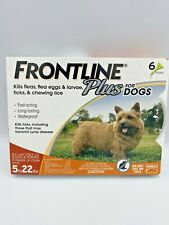 New FRONTLINE Plus for Small Dogs (5-22 lbs) Flea and Tick Treatment - 6 Dose