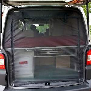 mossie insect FLY SCREEN Campervan easy install VW T4 T5 Transporter tailgate
