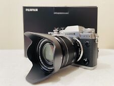 FUJIFILM X-T3 26.1MP DIGITAL CAMERA SILVER W/ XF18-55MM F2.8-4 RLM OIS MINT CON.