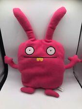 Uglydoll Wippy Pink Rabbit Bunny Pretty Ugly Doll Plush Kids Stuffed Toy Animal