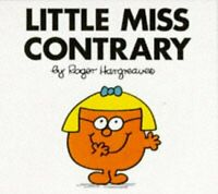 Little Miss Contrary (Little Miss Library) by Roger Hargreaves, Good Used Book (