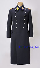 WW2 Repro German Luftwaffe Officer Blue Gray Gabardine Overcoat All Sizes