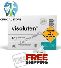 Visoluten - Peptide bioregulators bioregulator Havinson 60 cap - eye peptides