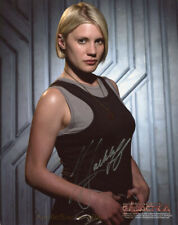 Battlestar Galactica Katee Sackhoff 'Starbuck' 8X10 Color Photo ~ Signed