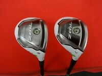 TAYLORMADE RBZ 19° 3 Hybrid 22° 4 Hybrid Set RH Right Handed Factory Regular