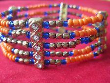 Savvy Cie Karma Multi-Bead Stretch Bracelet NWT