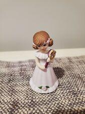 Growing Up Birthday Girls Age 1 Hallmark Porcelain Girl 2.5� Figurine Brunette