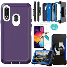 For Samsung Galaxy A20S A51 A71 4G Case Cover/Holster Belt Clip/Screen Protector