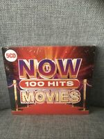 Now 100 Hits Movies - (Various Artists) [New & Sealed] 5 CDs Box Set, Freepost