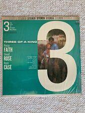 """Three of a Kind"" Percy Faith - David Rose - Russ Case LP DLP 901 STEREO"