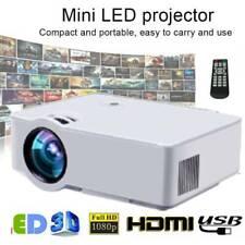 Home Multimedia Cinema LED HD Projector LCD Technology Support AV VGA USB USSHIP