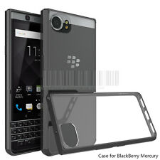Slim Shockproof Rubber Hybrid Tpu Clear Phone Case Cover For Blackberry Keyone