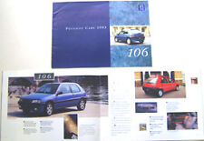 Peugeot 106 XSi XT XR XN Original 1993 UK Brochure