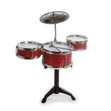 Kids Desk Top Drum Kit Miniature Musical Instrument Fun Novelty Toy Gift