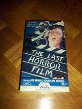 The Last Horror Film used VHS film rare 1984 Media release classic good cond