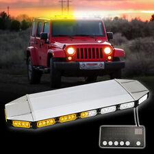 Roof Led Light Bar Emergency Strobe Warning for Tow Trucks Amber Traffic Advisor