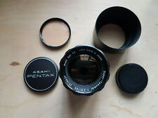 Asahi Pentax Super-Takumar 105mm F2.8 Lens (adapters available)