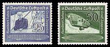 OSTMARK 1938 Deutsches Reich 669-670 postfrisch **/ MNH KW Euro 55,00