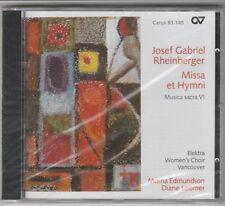 Josef Rheinberger - Missa et Hymni: Musica Sacra VI (1999) Factory Sealed