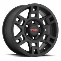 """🔥 Genuine Toyota 17"""" Black TRD PRO Wheels Tacoma 4Runner FJ Cruiser Set of 4 🔥"""